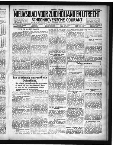 Schoonhovensche Courant 1936-03-25