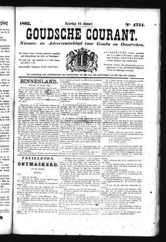 Goudsche Courant 1892-01-16