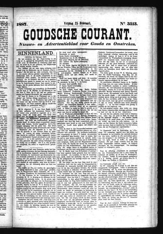 Goudsche Courant 1887-02-25