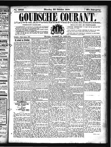 Goudsche Courant 1918-10-22