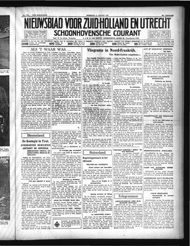 Schoonhovensche Courant 1937-01-20
