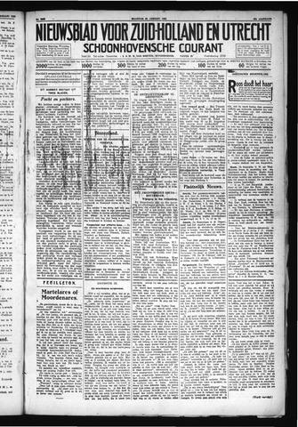 Schoonhovensche Courant 1930-01-20