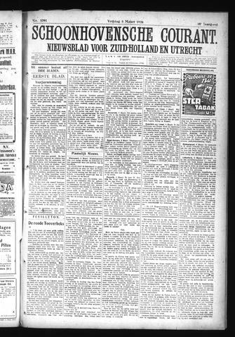 Schoonhovensche Courant 1926-03-05