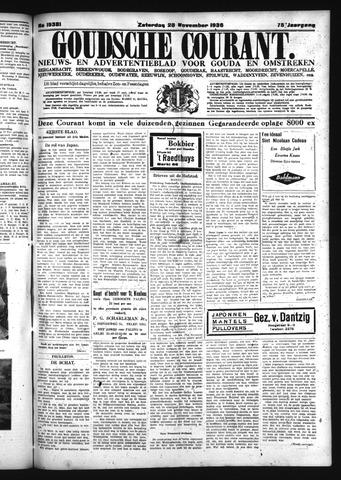 Goudsche Courant 1936-11-28