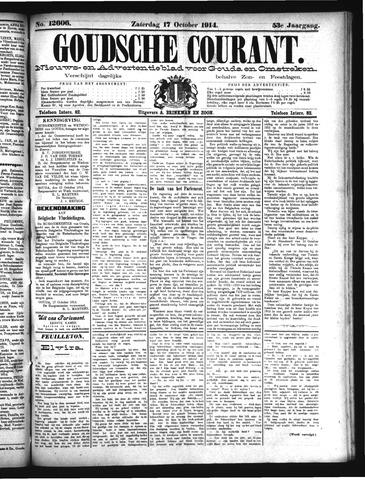 Goudsche Courant 1914-10-17
