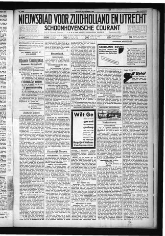 Schoonhovensche Courant 1931-10-23