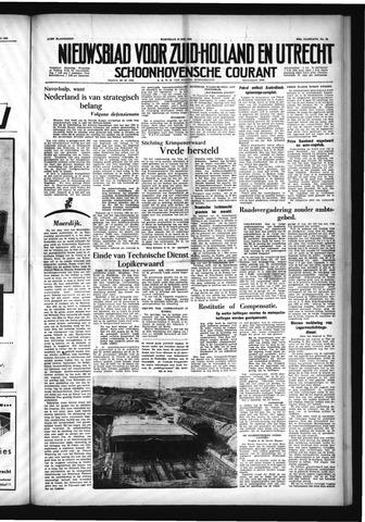 Schoonhovensche Courant 1954-05-19