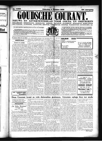 Goudsche Courant 1930-10-11