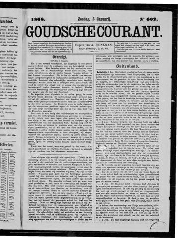 Goudsche Courant 1868-01-05