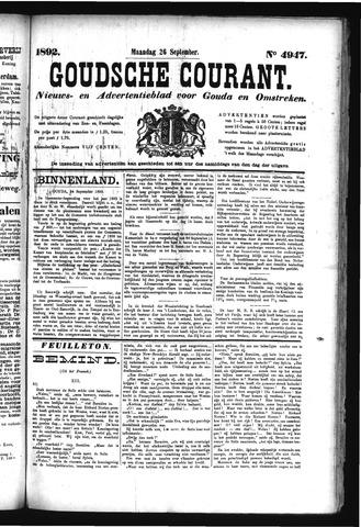 Goudsche Courant 1892-09-26
