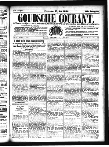 Goudsche Courant 1919-05-28
