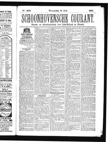 Schoonhovensche Courant 1905-07-12