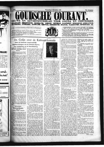 Goudsche Courant 1937-11-03