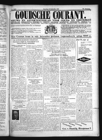 Goudsche Courant 1939-09-30