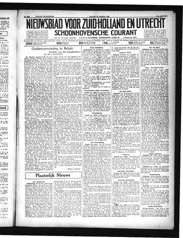 Schoonhovensche Courant 1935-01-25