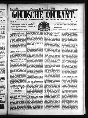 Goudsche Courant 1909-11-24