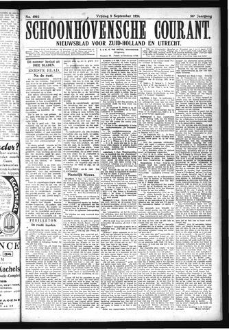 Schoonhovensche Courant 1924-09-05
