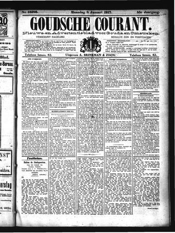Goudsche Courant 1917-01-08