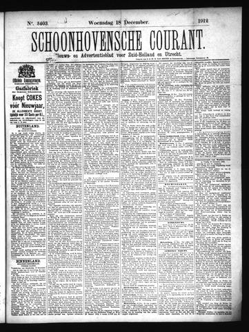 Schoonhovensche Courant 1912-12-18