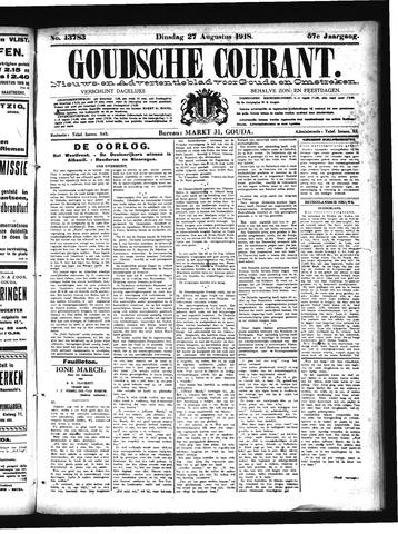 Goudsche Courant 1918-08-27