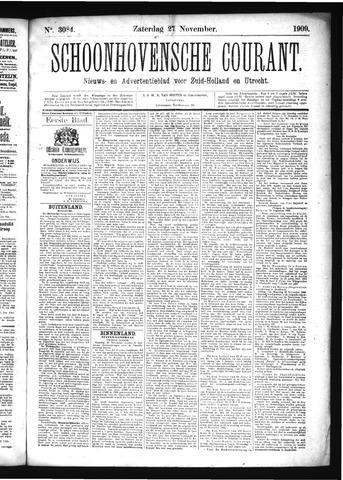 Schoonhovensche Courant 1909-11-27