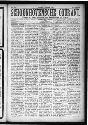 Schoonhovensche Courant 1923-02-05