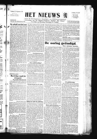 Schoonhovensche Courant 1945-08-17