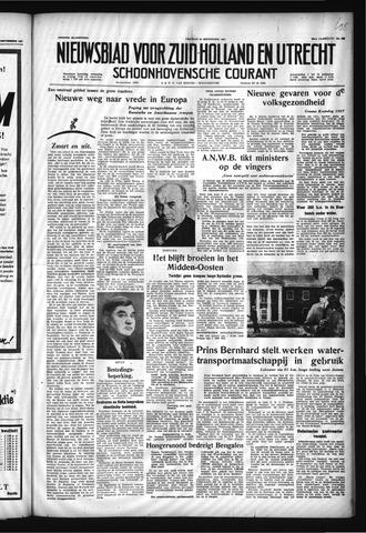 Schoonhovensche Courant 1957-09-13
