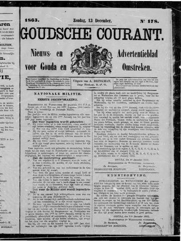 Goudsche Courant 1863-12-13