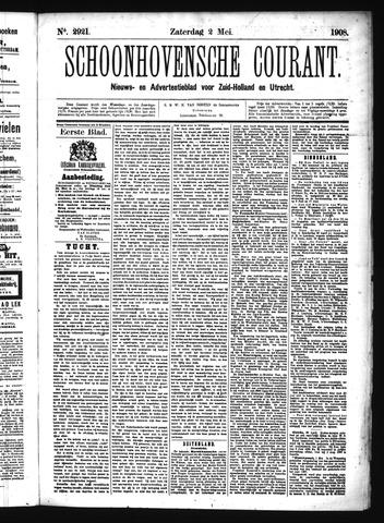 Schoonhovensche Courant 1908-05-02