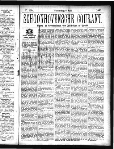 Schoonhovensche Courant 1896-07-08