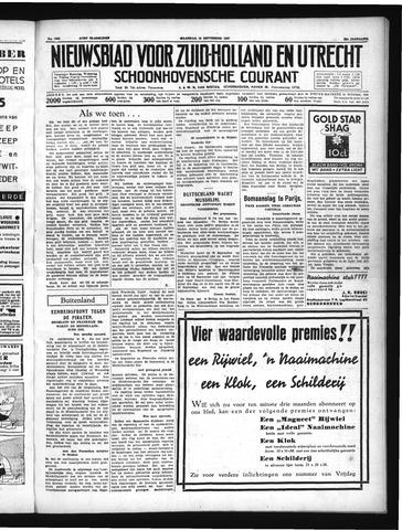 Schoonhovensche Courant 1937-09-13