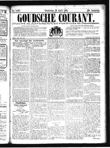 Goudsche Courant 1920-04-29