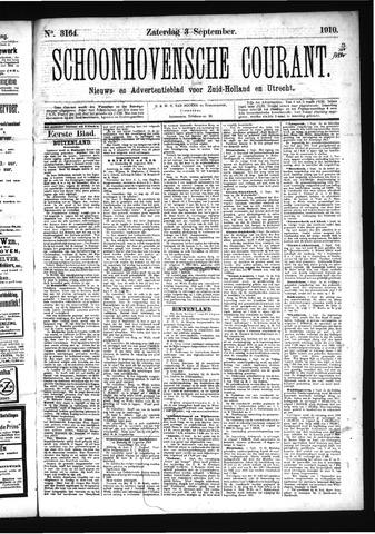 Schoonhovensche Courant 1910-09-03