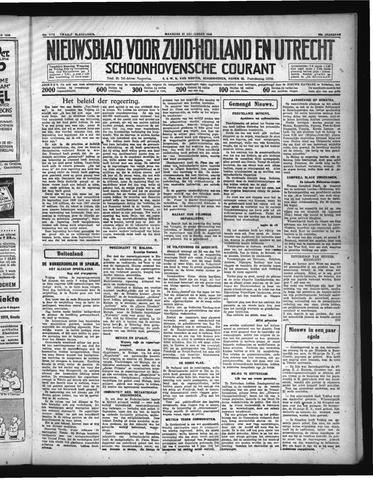 Schoonhovensche Courant 1936-09-21