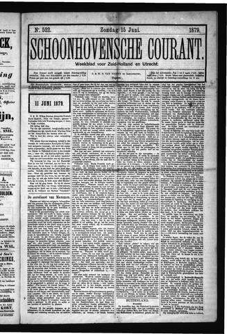 Schoonhovensche Courant 1879-06-15