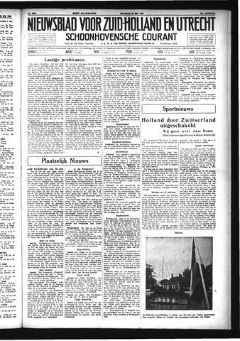 Schoonhovensche Courant 1934-05-28