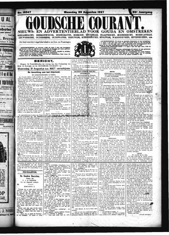 Goudsche Courant 1927-08-29