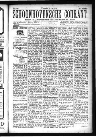 Schoonhovensche Courant 1922-05-10
