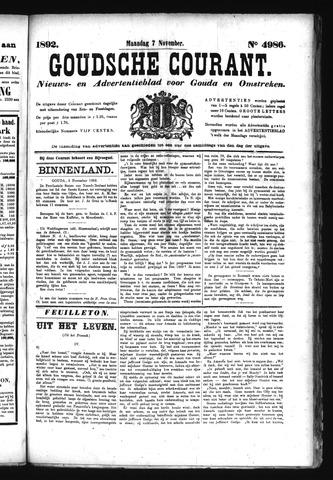 Goudsche Courant 1892-11-07