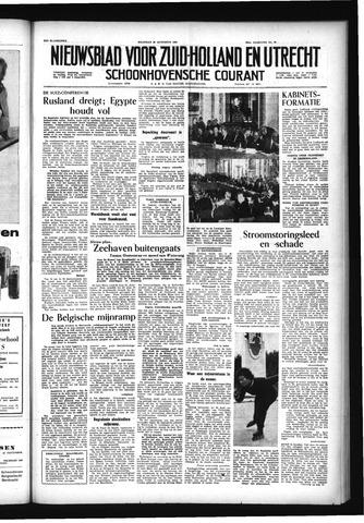 Schoonhovensche Courant 1956-08-20