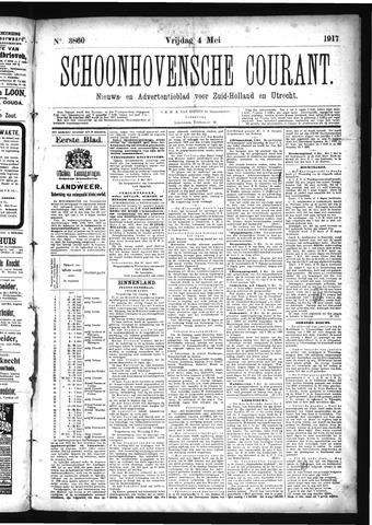 Schoonhovensche Courant 1917-05-04