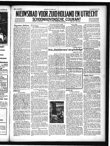 Schoonhovensche Courant 1947-10-06
