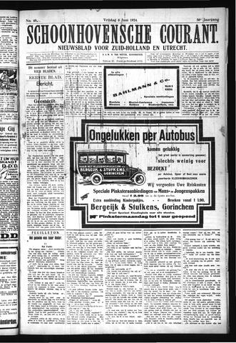 Schoonhovensche Courant 1924-06-06