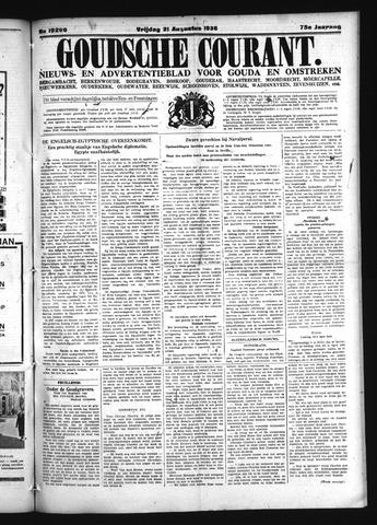 Goudsche Courant 1936-08-21