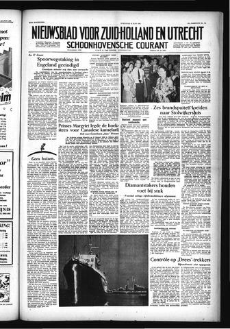 Schoonhovensche Courant 1955-06-15