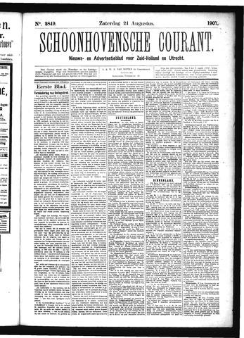 Schoonhovensche Courant 1907-08-24