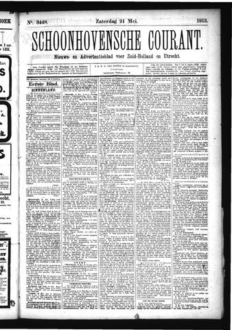 Schoonhovensche Courant 1913-05-24