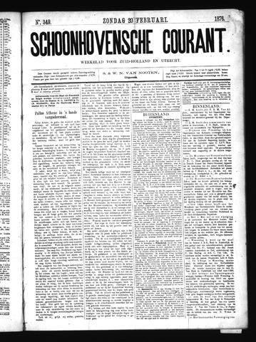 Schoonhovensche Courant 1876-02-20