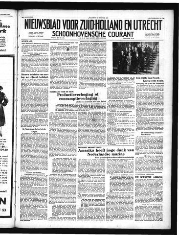 Schoonhovensche Courant 1950-10-16